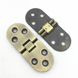 Cabinet Door Folding Hinge Zinc Alloy Gold for Folding Chairs and Table Hinges for Furniture Hardware Accessories