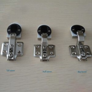 Soft-Close Hinges Durable Strong Full Cover/ Half Cover / Big Bend Type Glass Hinges for Glass Display Cabinet Wine Door