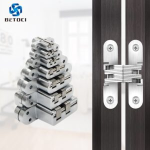 2PCS BETOCI 304 stainless steel hidden hinge 7specification hidden form mounting folding door hinge,door furniture hardware