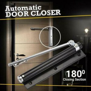 Automatic Door Self Closing Hinge Door Closer Single Spring Adjustable Surface Mounted Closing Fire Rated Hardware bisagras