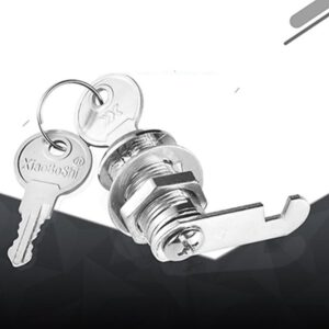 Zinc Alloy Mailbox Cabinet Lock Keyless Cam Lock for Boat Door Bus Cabinet Toolbox Hand Screw Hardware Locks