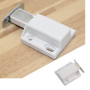 Strong And Durable Door Lock Invisible Push Open Magnetic Door Drawer Cabinet Door Lock Latch Lock Cabinet Spring Contraction