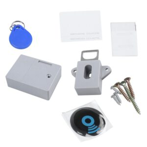 Invisible RFID Free Opening ligent Sensor Cabinet Lock Locker Wardrobe Shoe Cabinet Drawer Door Lock Electronic Dark