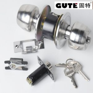 GUTE stainless steel Upscale door locks Indoor Ball Lock Mortise Kitchen and toilet spherical locks