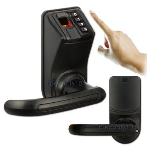 NEW Access Control LS911 Black LS9 Biometric Fingerprint Password Door Lock