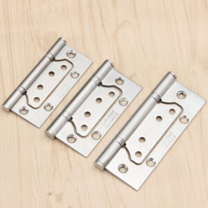 Stainless steel mother-in-law mute bearing 4 inch 5 inch door wooden door free slotted hinge hinge folding hinge