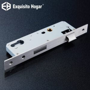 Stainless Steel 85X40 Lock Hardware Door Split Lock Body Wooden Door Lockcase Metal Square Panel