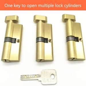 Extended interior door lock core universal small 70/80/90mm bedroom door wooden door handle lock core