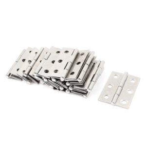 20 pcs stainless steel wardrobe cabinet door folded door hinge