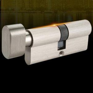 Theftproof 60/65/70mm EU Standard Bedroom Entrance Interior Door Lock Security Copper Lock Cylinder Lengthened Core with 3 Keys