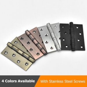 Black Antique 4 inch Hinge Stainless Steel Door Hinge For Heavy Doors Furniture Accessories