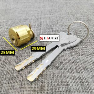 Hotel Inductive Lock Magnetic Card Lock Intelligent Lock Cylinder Electronic Lock Head Without Accessories