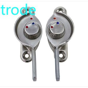 Left right long hook stainless steel window lock alloy door and window crest lock moving door and window lock 1Pcs